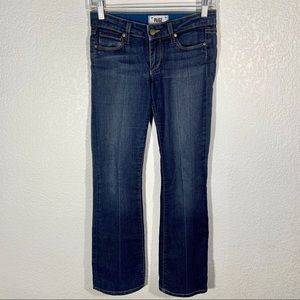 Paige Jeans Skyline Boot Size 25